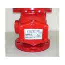 Descrição: Vávula de Alarme e Governo de 4″. Corpo em ferro fundido pintado na cor vermelha. Certificação UL. | Modelo: SK-VGA4