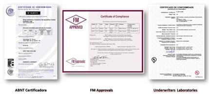 ABNT certificados