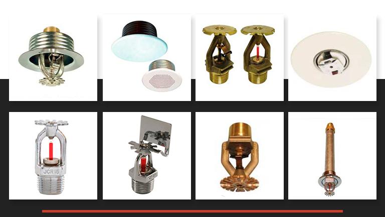 O que você precisa conhecer sobre os tipos de chuveiros automáticos (sprinklers)