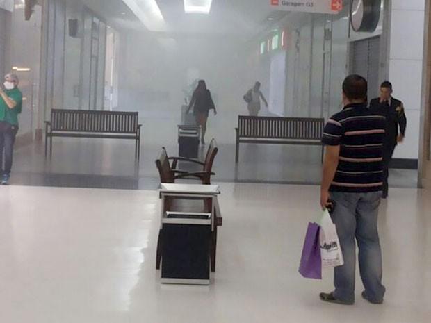 shopping incêndio