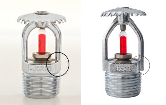 Comparação entre os modelos JCR20 (esq) e B-11 (dir)