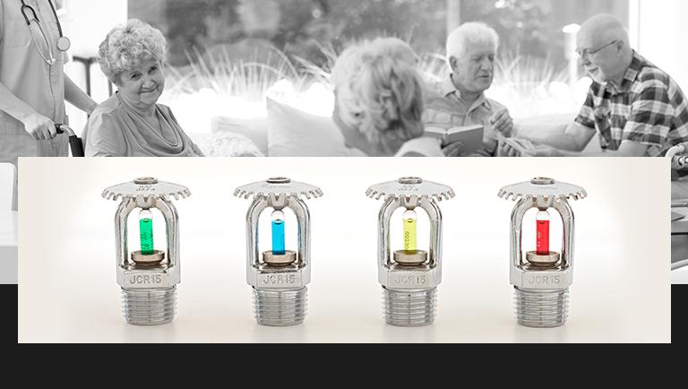 Importância de sprinklers em locais com pessoas que necessitam de cuidados especiais