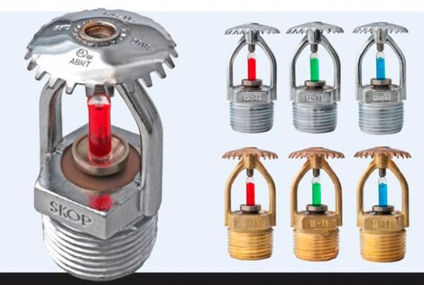 Condomínio logístico em Porto Canoa conta com sprinklers Skop B-11