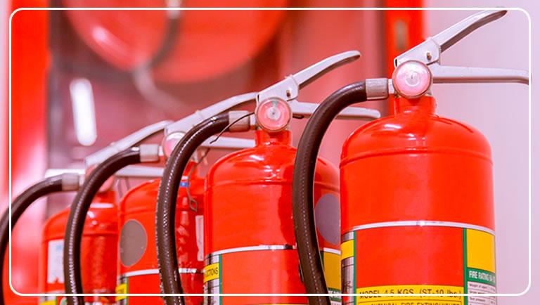 Saiba identificar o extintor correto para cada tipo de incêndio