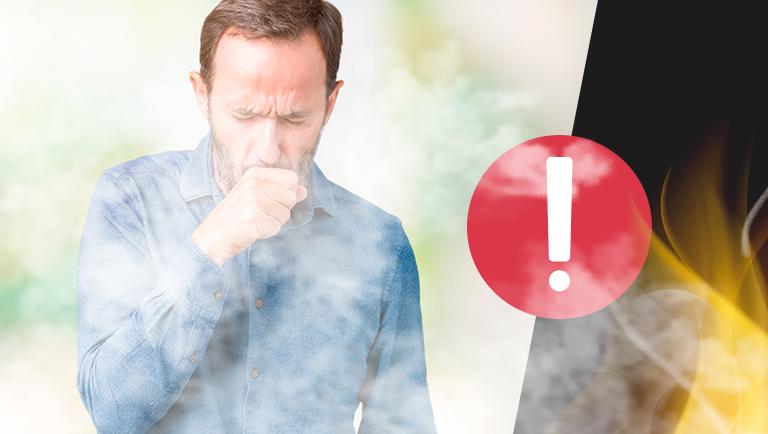 Entenda os riscos da inalacao de fumaca de incendio