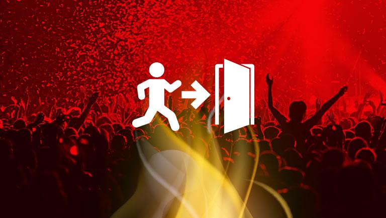 Prevenção a incendio em grandes eventos