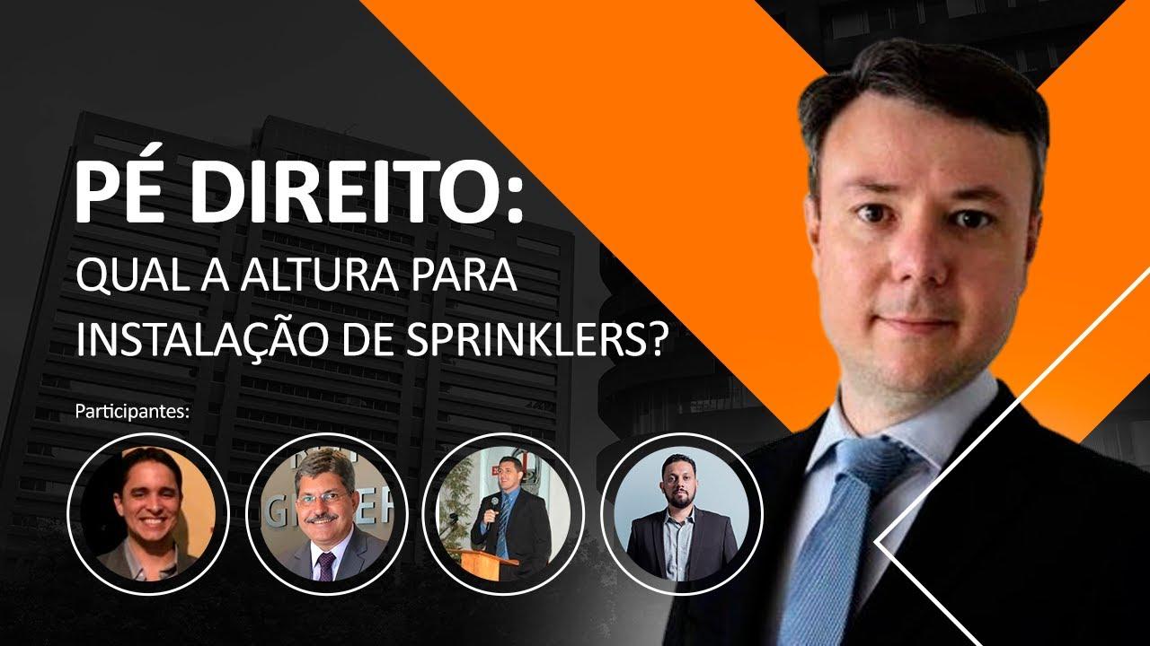 Pé direito: qual a altura para instalação de Sprinklers?