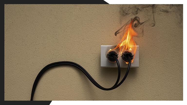 incêndio em home office