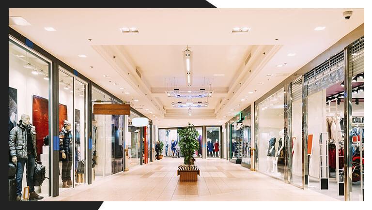 sprinklers em shoppings centers / incêndios