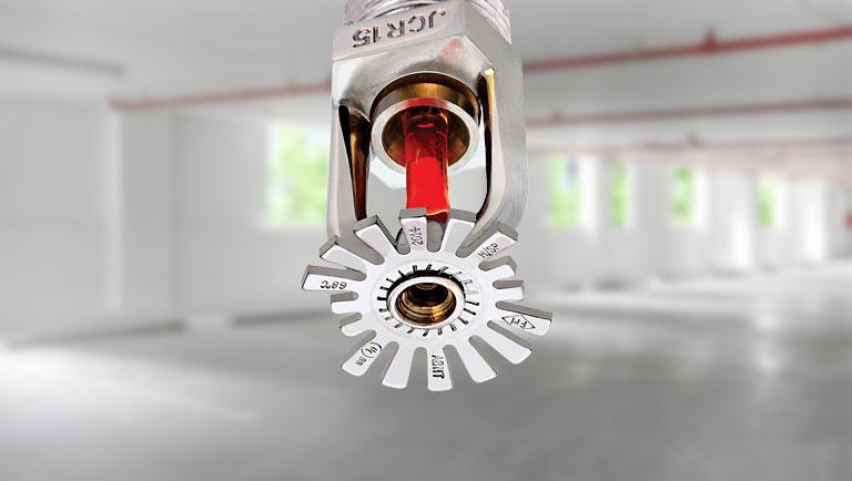 sprinklers ou chuveiros automáticos