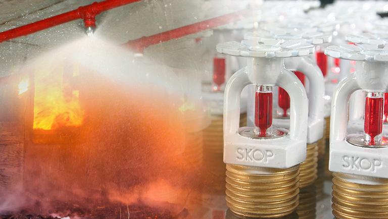 A importância da conservação e manutenção de Sprinklers