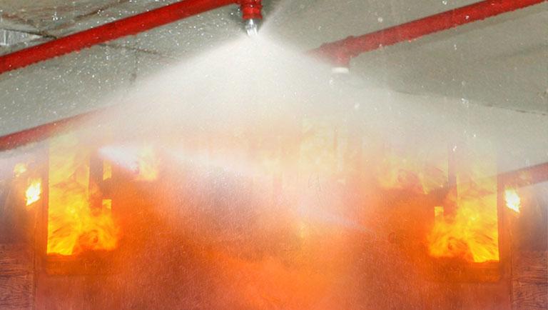 Por que usar sprinkler mesmo quando não é obrigatório?