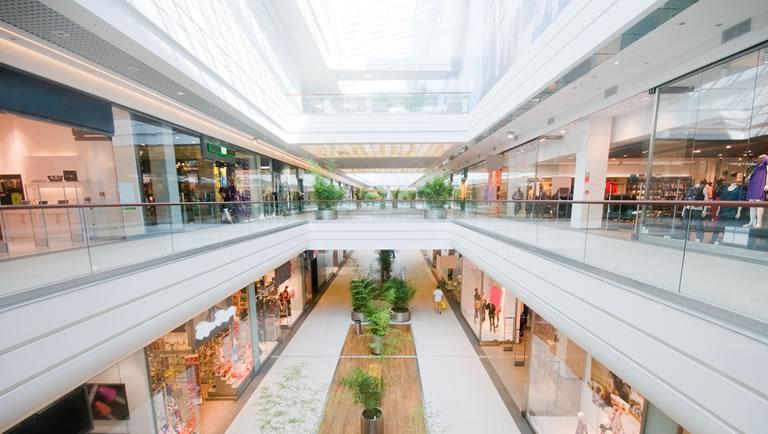 Sprinklers em Shopping Centers