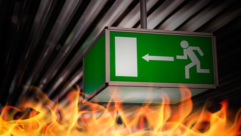 13 procedimentos que você deve fazer em caso de incêndio