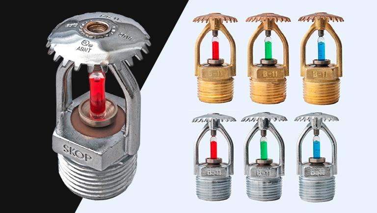 Quantos e quais são os ensaios para certificação de um sprinkler no Brasil?