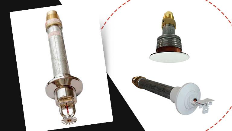 Sprinkler tipo seco (Dry) - conhecendo as caracteristicas tecnicas, especificacao e aplicacao
