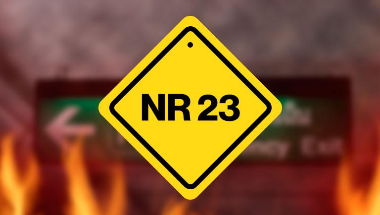 NR 23 na prevencao de incendios
